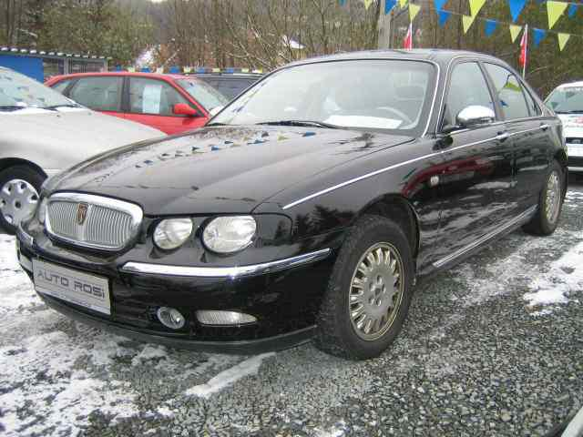Auto Entertaintment And Lifestyle 2004 Rover 75 Limousine